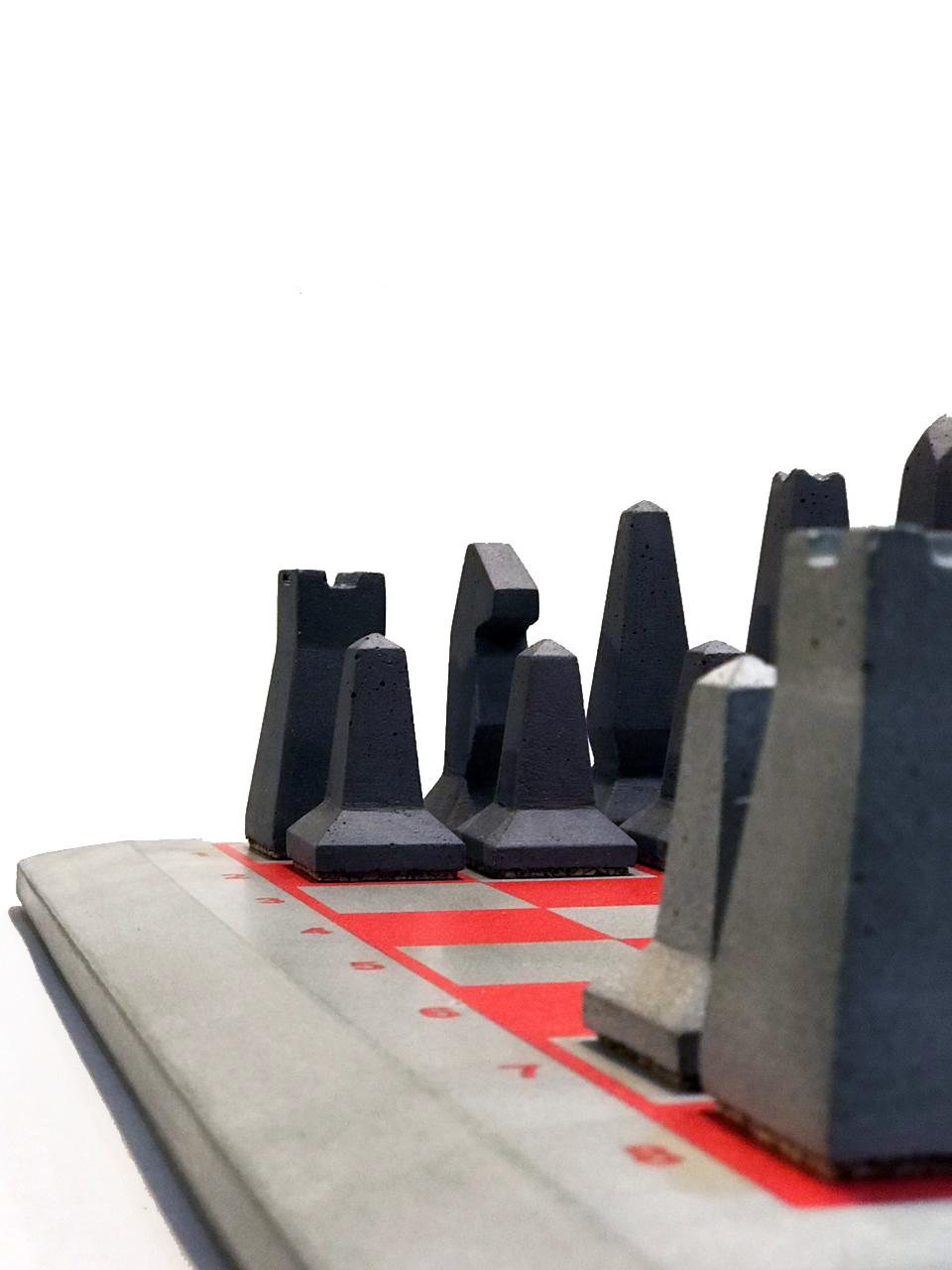 Шахматы из бетона составы для керамзитобетона